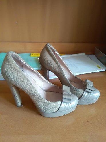 замшевые туфли бежевого цвета в Кыргызстан: Женские туфли 35