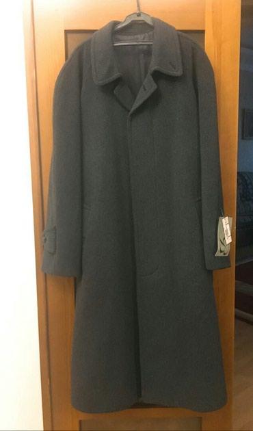 Мужское пальто серое, темно синее,хаки 54 р в Бишкек