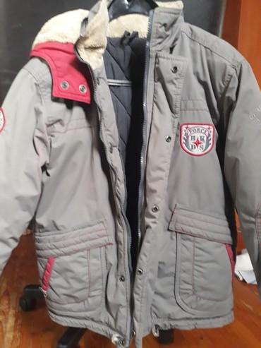 Dečije jakne i kaputi | Pancevo: Beba kids jakna zimska nalozena sa kapuljacom bez ostecenja vel.8