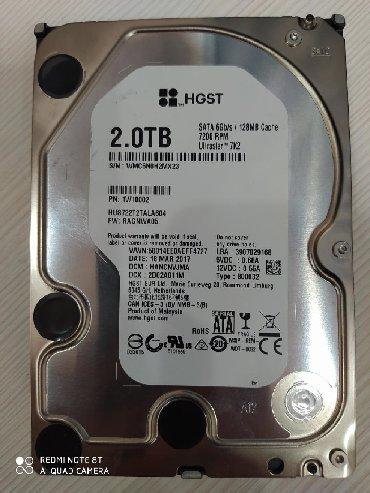жесткие диски 2 тб в Кыргызстан: Новый не использованный жесткий диск от производителя Hitachi в г. Ош0