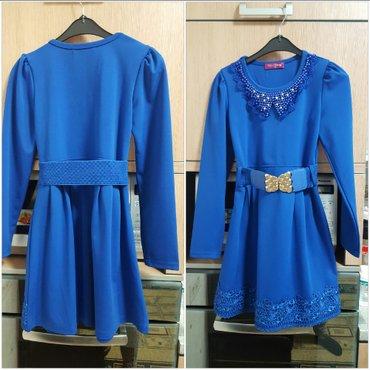 платье трикотаж б/у на 10л в Бишкек