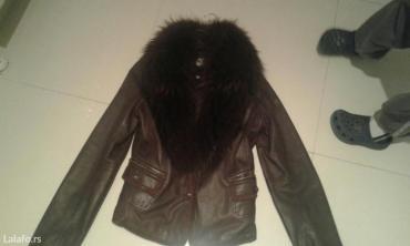 Kozna jakna sa prirodnim krznom koje se skida fratelli - Backa Palanka