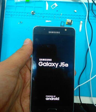 Samsung-galaxy-note4 - Кыргызстан: Б/у Samsung Galaxy J5 2016 16 ГБ Черный
