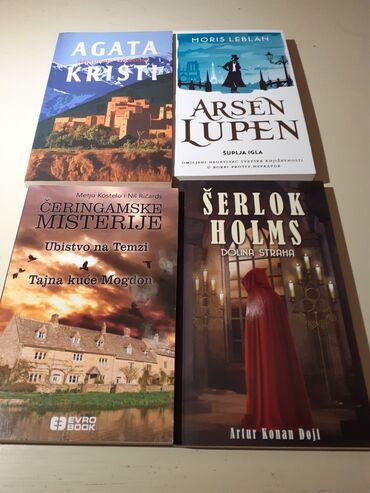 2. Krimi komplet-4 nekorišćenih knjiga