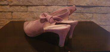 Ženska obuća | Crvenka: Sandale puder boja 38broj