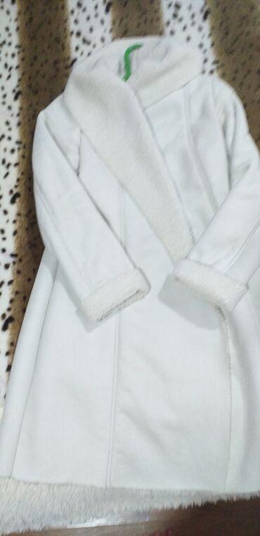 Женские пальто в Кыргызстан: Продаю дублёнку в отличном состоянии . размер 46-48. очень легко