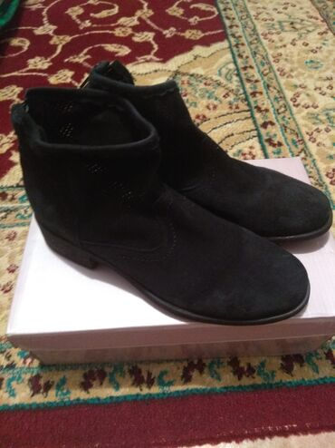 Продаю Деми ботинки, размер 36, натуральная замша