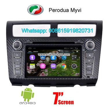Perodua Myvi Android Car Radio WIFI DVD GPS navigation camera in Kathmandu