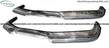 . Volvo P1800  (1963-1973) bumpers stainless steel  One set in Amargadhi