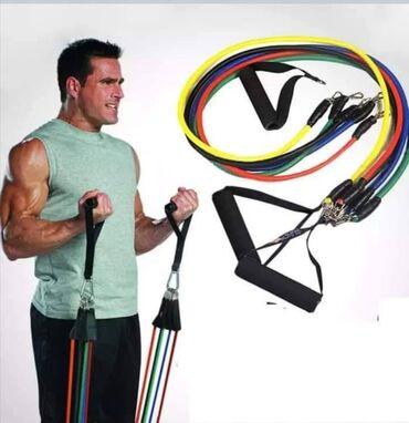 Sport i hobi - Nova Pazova: Hit CENA 1790 dinaraHome gym extreme Trake za rastezanje i vežbanjeVaš