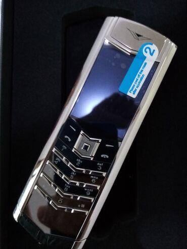 Vertu Signature Silver Mirror  Premium klass  Qiymət - 449 AZN  Zəman