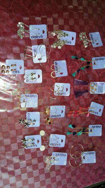 Haljina-na-popustu-xl - Srbija: Claire's naušnice (novo),cena je po paru 800din.Veliki izbor i za
