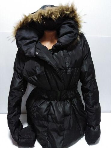 Zimska jakna sa krznom - Srbija: NATURE zimska duža jakna sa kapuljačom(skida se)na kapuljači prirodno