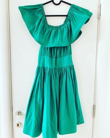 Haljine | Bor: Zelena letnja haljina, S vel