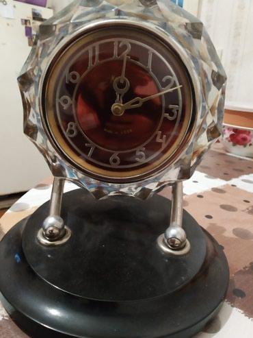 """Bakı şəhərində SSSR istehsali """"MAYAK"""" saatı orginal xrustaldan. QOST 3309-75 , II KL"""