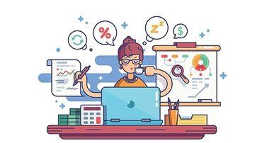 Бухгалтерские услуги | Сдача налоговой отчетности, Работа в 1С, Ведение бухгалтерского учёта