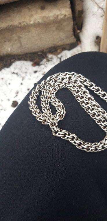 цепь серебряная в Кыргызстан: Продаю серебряную цепь. вес140 грамм,длинна 60. без замка
