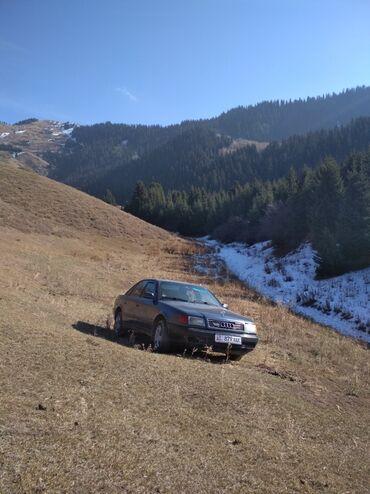 8 пик в Кыргызстан: Audi Quattro 2.8 л. 1991 | 1000000 км