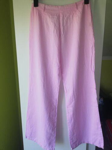 Lanene pantalone - Srbija: Lanene pantalone, M vel. Oboje 800 din