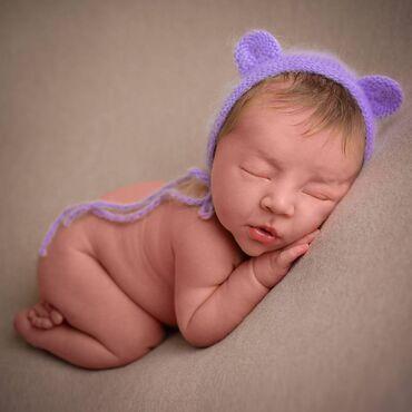 Фотосессия новорождённых крутые декорации, аксессуары и яркие образы!
