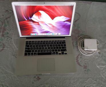 macbook pro i7 fiyat - Azərbaycan: Apple MacBook Pro 15 ekran. 2010cu il. Core i7 prosessor. 8gb ram. 2Tb