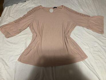 Bluza je - Srbija: C&A Bluza Nemačka.  Za punije dame. Obučena samo jednom