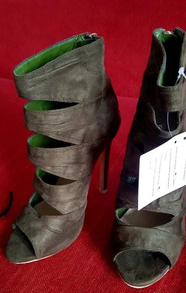 Sandale NOVO zelene br 36 crne broj 36 teget-bez broj 37 fiksno - Trstenik - slika 4