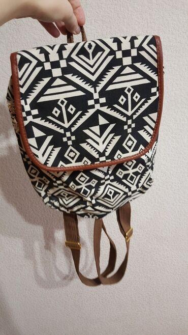 Рюкзак черный белый размер А4 НОВЫЙ рюкзачек