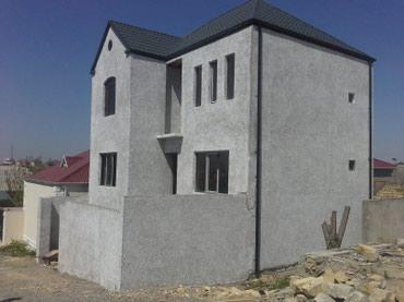 Xırdalan şəhərində Masaiz es/yoldan 50 metre 4 ot temire hazir 2 mertebeli kupcali ev