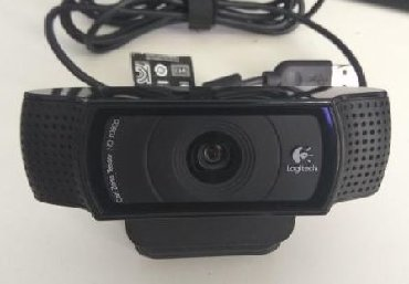 веб камеры ручная фокусировка в Кыргызстан: Веб-камера Logitech C920 HD Pro Webcam Full 1080p high