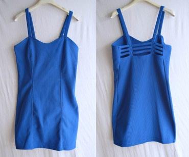 Majica-forever - Srbija: FOREVER 21 moderna plava haljina kao NOVA Prelepa plava haljina poznat