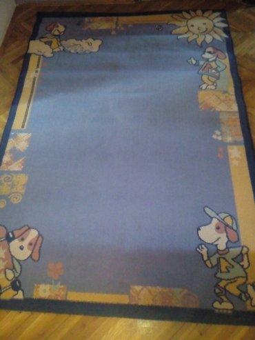 Kuća i bašta - Prokuplje: Tepih za ***dečiju sobu***, malo korišćen očuvan, 225cm /155cm