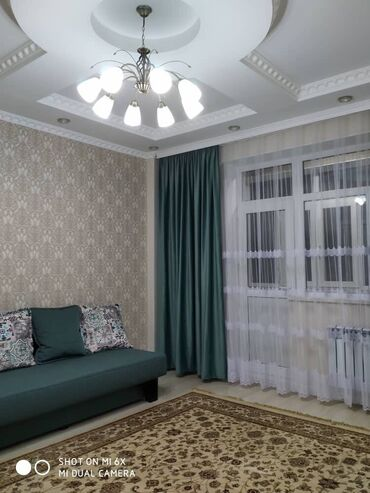 квартиры-долгосрочно в Кыргызстан: Сдается квартира: 2 комнаты, 70 кв. м, Бишкек