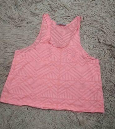 Atlet majice - Srbija: Roza neon majica/ S