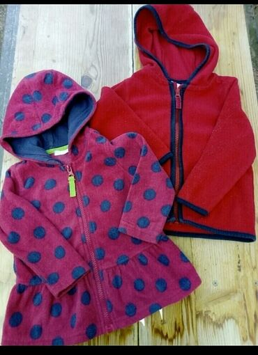 Paket odeće - Indija: Dve tople duks jakne br.86