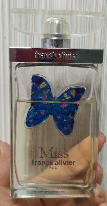 Личные вещи - Садовое (ГЭС-3): Продаю парфюм оригинал Miss Franck Olivier. Не полный. 1100сом