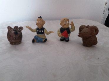 Керамические фигурки. 50 сом 1 штука в Novopokrovka