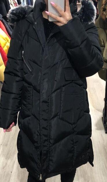 пальто женское зимнее бишкек в Кыргызстан: Куртка зимняя женская. Отличного качества. Точно такая же как на фото