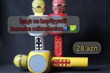 Mikrofonlar - Azərbaycan: Karaoke mikrofonları