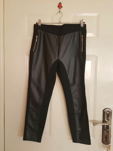 Nove!!! Pantalone-helanke💜💜💜 prednji deo eko-koza - Belgrade