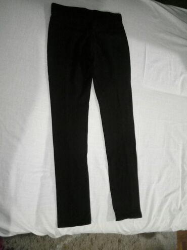Pantalonice s - Srbija: Crne pantalonice sa cipkom, kao nove, dva puta nosene. Vel S (34)
