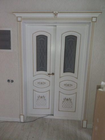 Установка лестницы и двери в Лебединовка