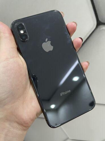 термотрансферная пленка в Кыргызстан: Б/У iPhone X 256 ГБ Черный