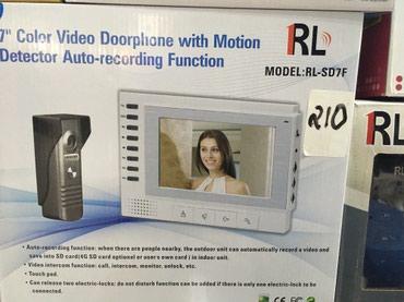 Bakı şəhərində Domofon model RL sd7f. Daxili yaddashi, hereket senseru, foto ve video