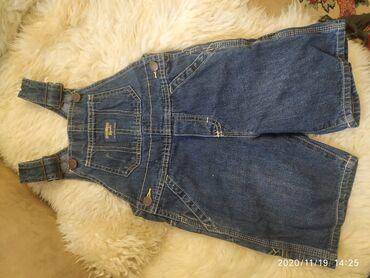Детский мир - Кой-Таш: Комбез шорты джинсовый Oshkosh на 2-3 года. 400 сом