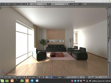 IT, интернет, телеком - Беловодское: 3-D моделирование в Blender 3D - дизайн интерьера, мебель и предметы