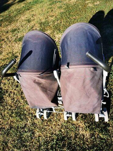 Kolica za decu - Srbija: Kolica za blizance kupljena pre 2 godine. Jedina mana im je sto je izv