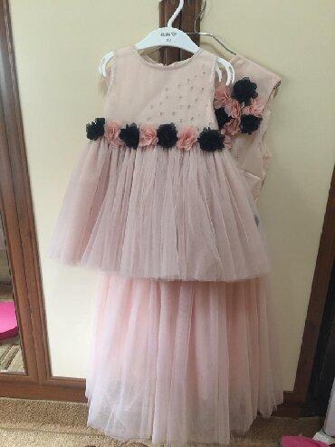 платье мама и дочь в Кыргызстан: Продаю платья мама-доча! Сшиты на заказ, ни разу не одеты. Доча размер