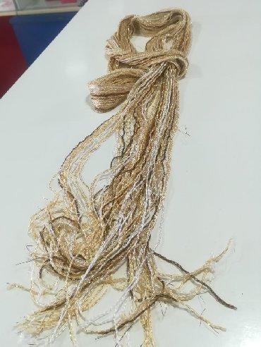 Papuce-broj-anatomske-krem-boja - Srbija: Šal ešarpa konac zlatna krem boja
