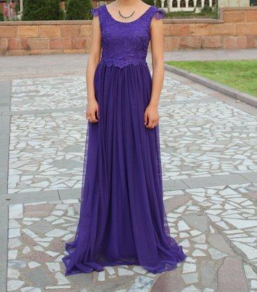 Вечернее платье. размер стандарт. надевали один раз на выпускной в Бишкек